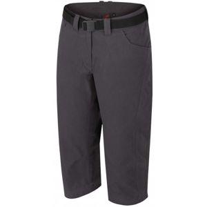Hannah CAPRI šedá 38 - Dámské kalhoty