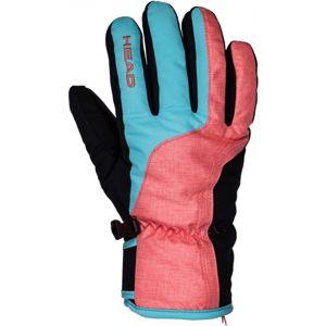 Head IRIS oranžová L - Dámské lyžařské rukavice