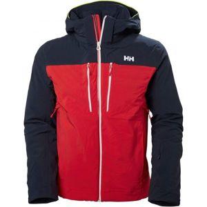 Helly Hansen SIGNAL JACKET červená S - Pánská lyžařská bunda