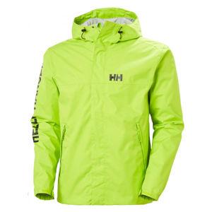 Helly Hansen ERVIK JACKET zelená XL - Pánská bunda