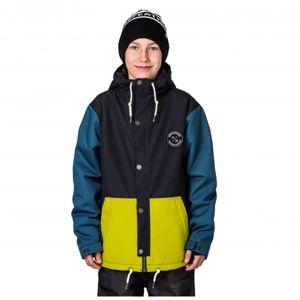 Horsefeathers EREBUS KIDS JACKET černá S - Chlapecká snowboardová/lyžařská bunda