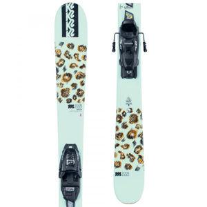 K2 MISSY FDT 4.5  129 - Dětské allmountain lyže s vázáním