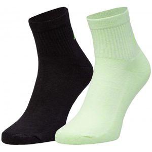 Kappa ZORAZ 2PACK černá 39 - 42 - Dámské ponožky