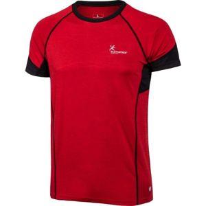 Klimatex ANTON červená XL - Pánské běžecké triko