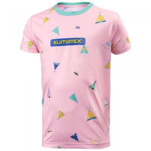 Klimatex ELILO růžová 110 - Dětské triko