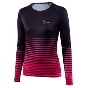 Klimatex ITANA černá S - Dámské běžecké triko