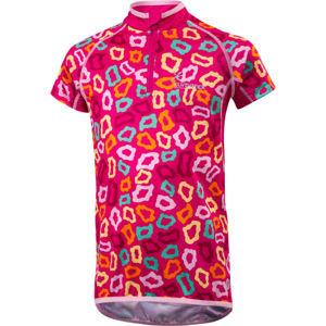 Klimatex MILKY fialová 122 - Dětský cyklistický dres