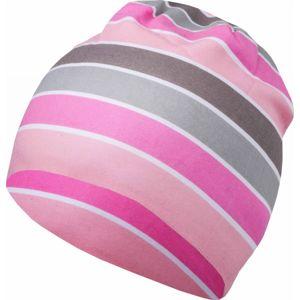 Lewro BELLSPROUT světle růžová 8-11 - Dětská čepice