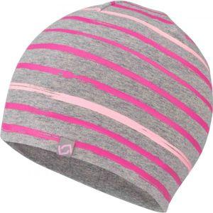 Lewro FERIT růžová 12-15 - Dětská čepice