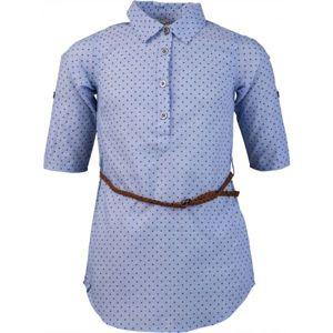 Lewro ODETTA modrá 140-146 - Dívčí košile