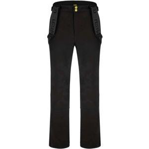 Loap LYENER černá XXL - Pánské softshellové kalhoty