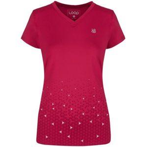 Loap MELONY červená XS - Dámské funkční triko