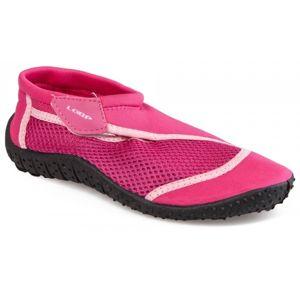 Loap SHARK KID růžová 29 - Dětské boty do vody