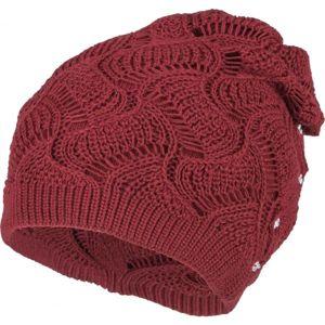 Loman JASMINE červená UNI - Dámská čepice