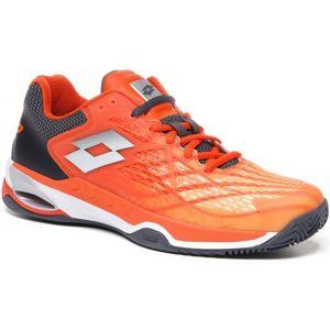 Lotto MIRAGE 100 CLY oranžová 10.5 - Pánská tenisová obuv