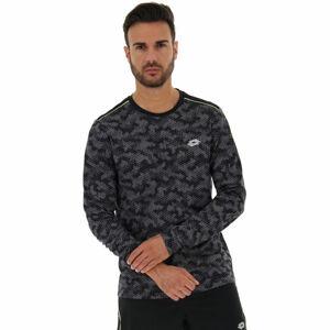 Lotto SPEEDRUN IV TEE LS PRT PL  S - Pánské sportovní tričko