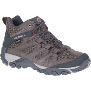 Merrell ALVERSTONE MID GTX hnědá 11 - Pánské outdoorové boty