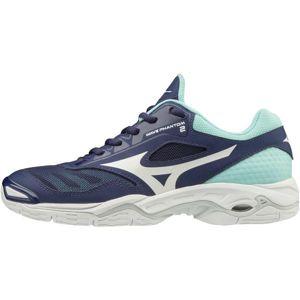Mizuno WAVE PHANTOM 2 W tmavě modrá 5 - Dámská sálová obuv