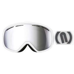 Neon ROCK bílá NS - Lyžařské brýle