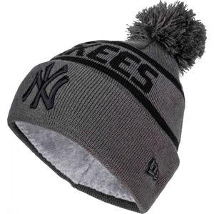 New Era TEAM JAKE BOBBLE NEW YORK YANKEES  UNI - Zimní čepice