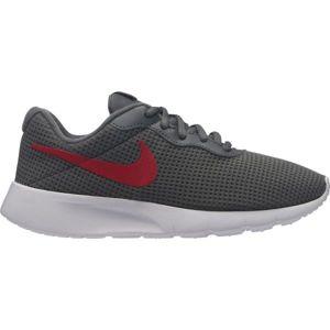 Nike TANJUN tmavě šedá 4 - Dětské volnočasové boty