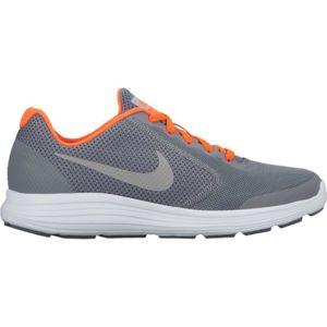 Nike REVOLUTION 3 GS šedá 6.5Y - Dětské běžecké boty