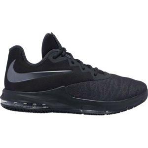 Nike AIR MAX INFURIATE III LOW černá 7 - Pánská basketbalová obuv
