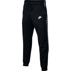 Nike NSW REPEAT PANT POLY černá M - Chlapecké sportovní tepláky