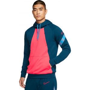 Nike DRY ACDPR HOODIE FP M modrá XL - Pánská fotbalová mikina