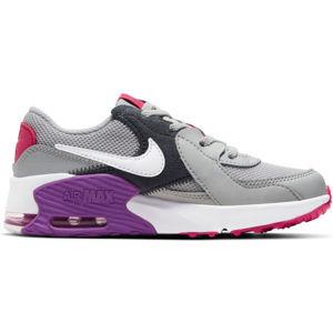 Nike AIR MAX EXCEE šedá 1.5Y - Dětská volnočasová obuv