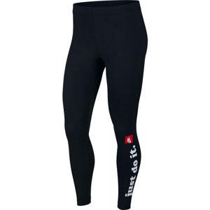 Nike NSW LGGNG CLUB W černá XS - Dámské legíny
