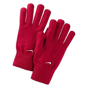 Nike KNITTED GLOVES červená L/XL - Pletené rukavice