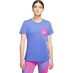 Nike NSW TEE ICON CLASH W bílá S - Dámské tričko
