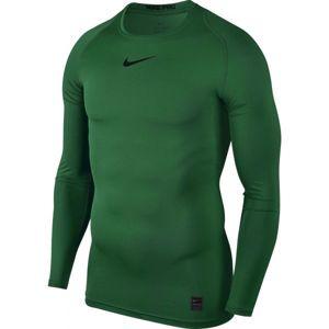 Nike PRO TOP zelená XL - Pánské triko