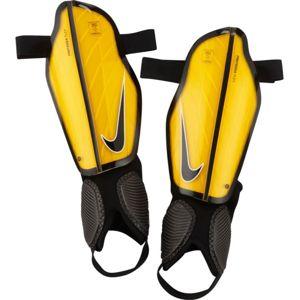 Nike PROTEGGA FLEX oranžová S - Fotbalové chrániče
