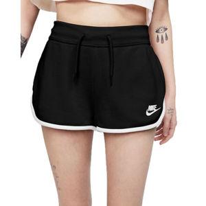Nike NSW HRTG SHORT FLC W  S - Dámské šortky