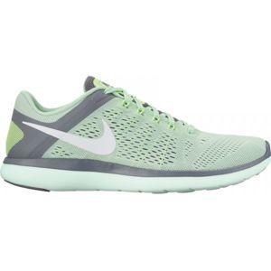 Nike NIKE FLEX 2016 RN W zelená 8.5 - Dámská běžecká obuv