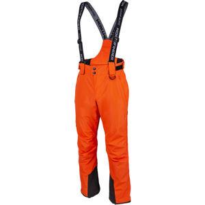 Northfinder QWERYN oranžová XXL - Pánské lyžařské kalhoty