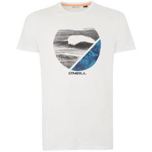 O'Neill PM FRAMED HYBRID T-SHIRT bílá S - Pánské tričko