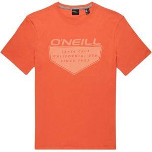 O'Neill LM ONEILL CRUZ T-SHIRT oranžová XXL - Pánské tričko