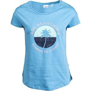 O'Neill LW SOL GRAPHIC  T-SHIRT modrá M - Dámské triko