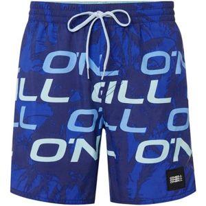 O'Neill PM STACKED SHORTS tmavě modrá M - Pánské koupací šortky