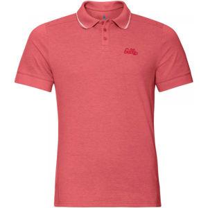 Odlo MEN'S T-SHIRT POLO S/S NIKKO oranžová L - Pánské tričko
