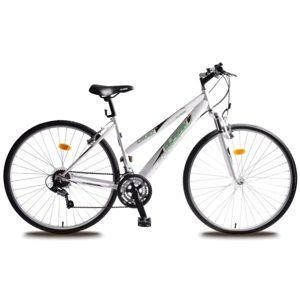 Olpran CRUEZ 28 SUS CR bílá NS - Trekové dámské kolo