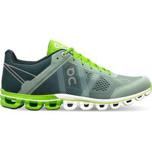 ON CLOUDFLOW tmavě zelená 12 - Pánská běžecká obuv