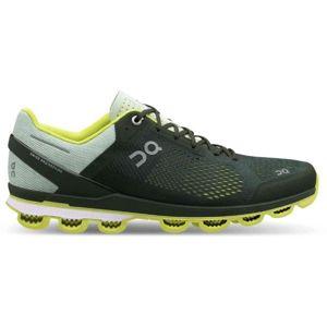 ON CLOUDSURFER tmavě zelená 9 - Pánská běžecká obuv