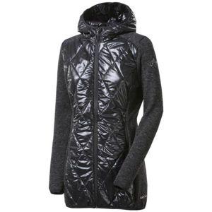 Progress SILVRETTA WOOL černá S - Dámský hybridní kabát