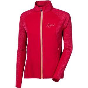 Progress STORM LADY červená M - Dámská běžecká bunda
