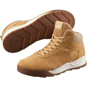 Puma DESIERTO SNEAKER béžová 7.5 - Pánská stylová obuv