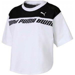 Puma MODERN SPORTS SWEAT TEE bílá XS - Dámské tričko